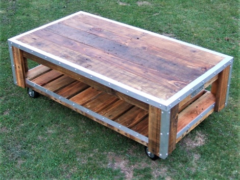 Coffee Table - mobile drinks cart