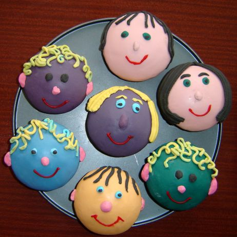 People Cupcakes