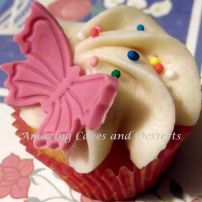 Butterfly Sprinkle Cupcake