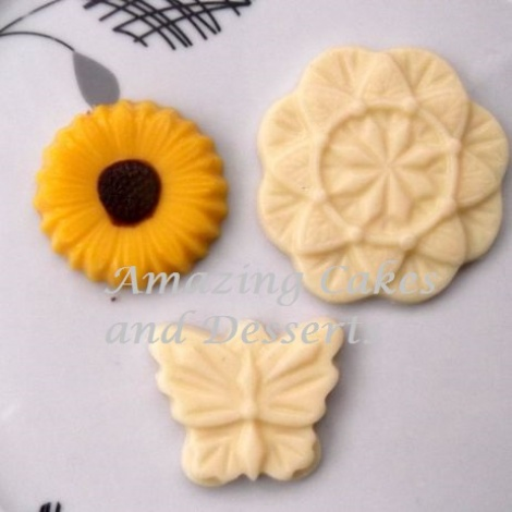 Flower and Butterfly Chocolate