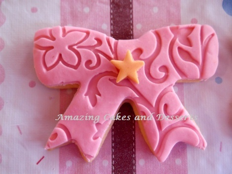 Ribbon Cookie