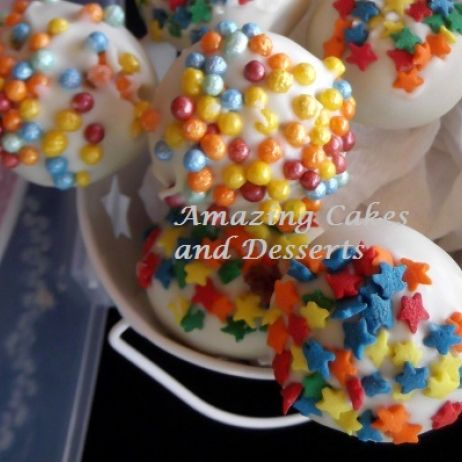 Sprinkel Cake pop