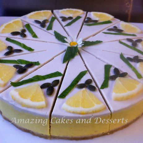 Lemon GF Vegan Cheesecake