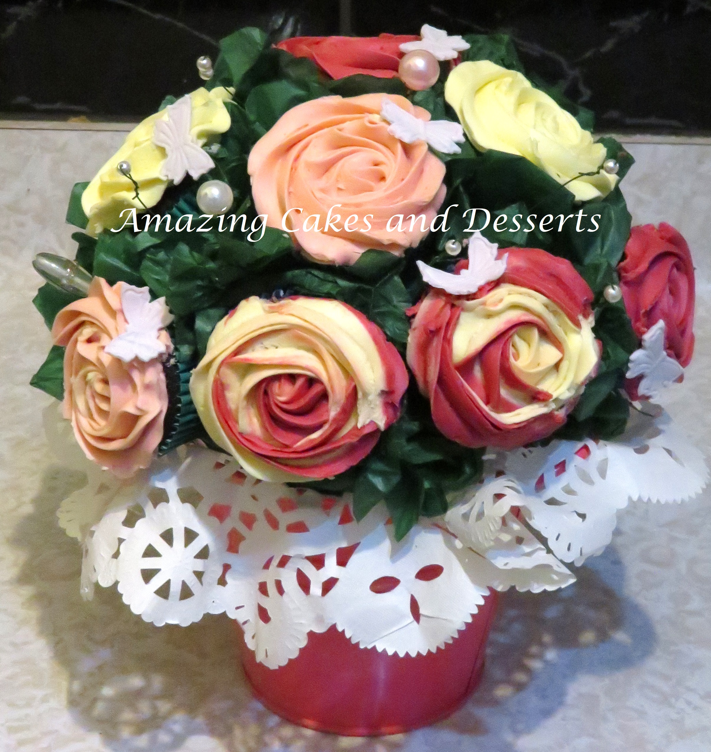 Cupcake Flower Pot Amazing Cakes And Desserts