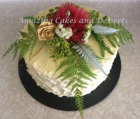 Natural beauty cake