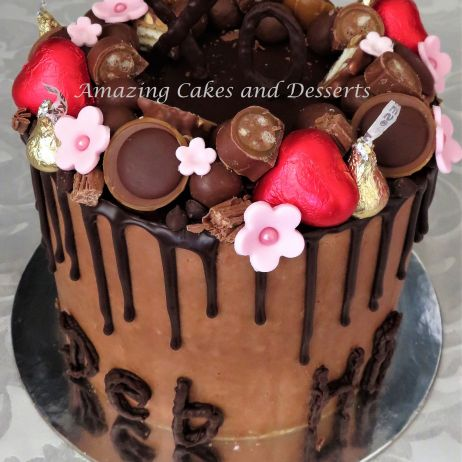 Chocolate Lovers Drip Cake
