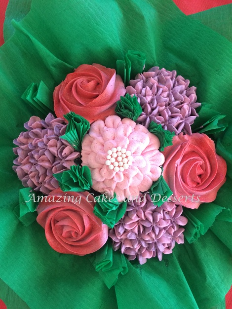 Beautiful Pink and Purple Flower bouquet