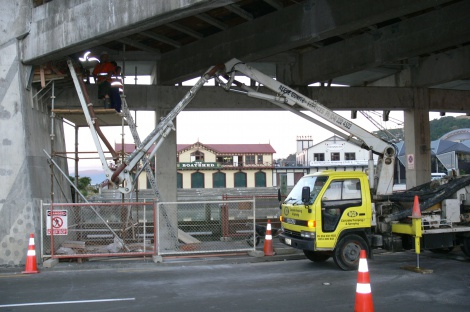Repair Work City to Sea Bridge - Self Compacting Concrete