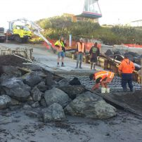Beach access Ramp Raumati south 50Mpa Marine Mix