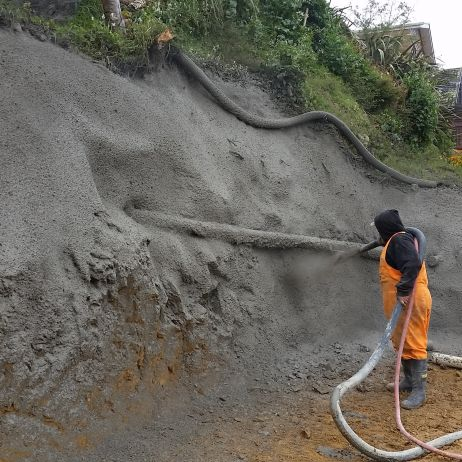 Applying Shotcrete