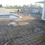 BEFORE PHOTO - Preparation for new Pool Surrounds.