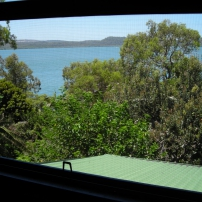 Bay view from master bedroom