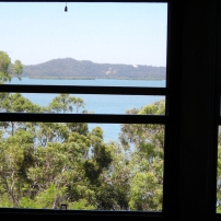 Bay view from second bedroom