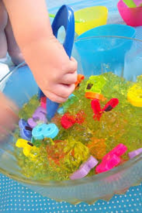 numeracy messy play