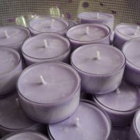 Lavender Tea-light candles.