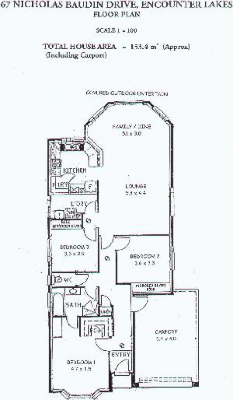 Lakeside Getaway floorplan