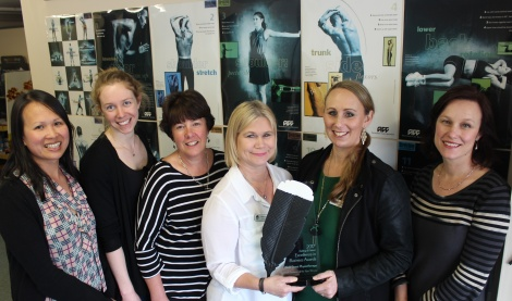 Weld St Physio Team - Personal Business of the year 2017- Feilding Business awards