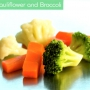 Carrot Cauliflower and Broccoli