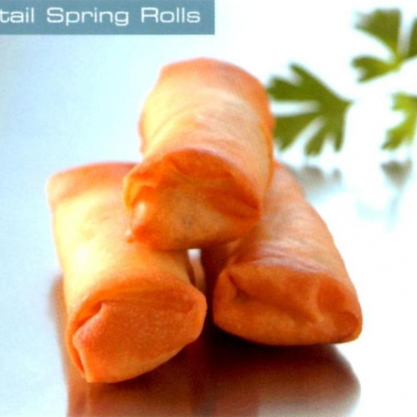 Cocktail Spring Rolls
