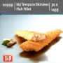 Fish Fillet Tempura Battered