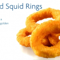 Squid Rings Natural Crumbed