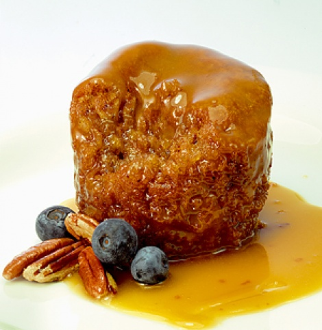 Butterscotch Pecan  Pudding  12 individual serves