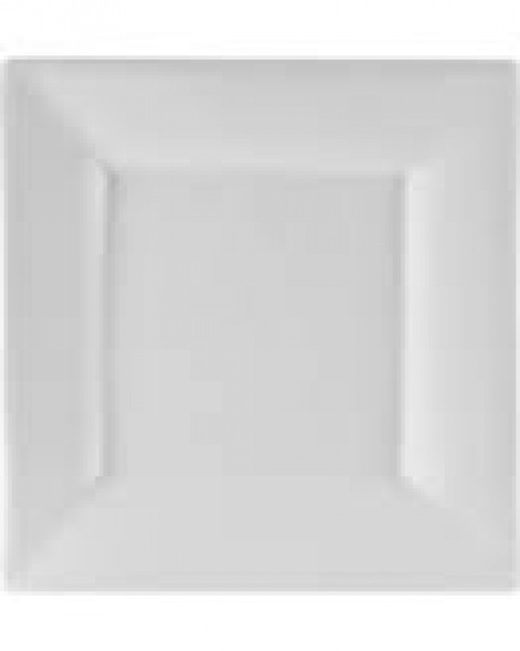 Large White Square Platter