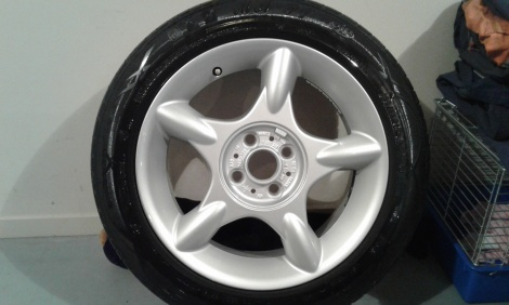 Mini Wheel After Vapour Blasting