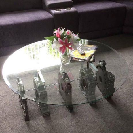 ROTARY COFFEE TABLE