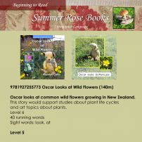 Oscar Looks at Wild Flowers