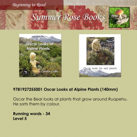 Oscar Looks at Alpine Plants