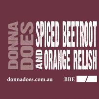 Spiced Beetroot & Orange Relish