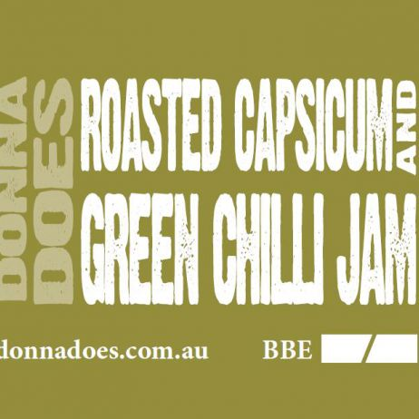 Roasted Capsicum & Green Chilli Jam