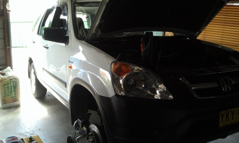 Honda CRV complete Brake Overhaul Wallsend