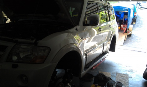 Mitsubishi Pajero 2004 Disc Machining