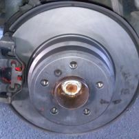 BMW X5 99 Rear Brake Pads and Rotors Renewed