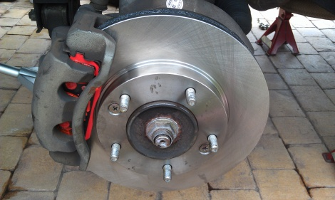 Front Disc Brake Replacement Kia Sorrento Elemore Vale