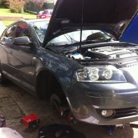 Audi Front Brake Repair New Lambton