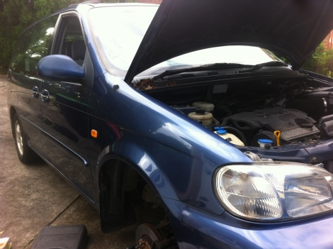 Brake Repair Kia Carnival Kotara