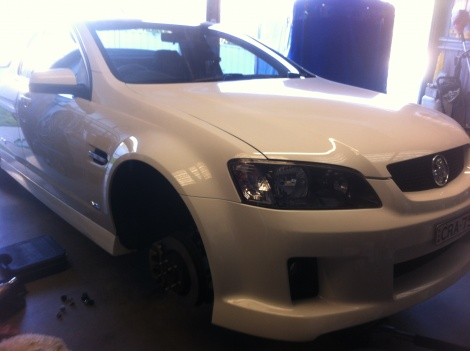 Brake Repair Holden Commodore VE SS