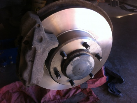 Disc Brake Repair Toyota Prado