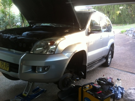 Disc Brake Replacement Toyota Prado Islington