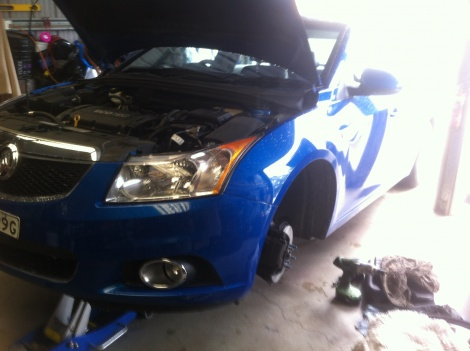 Brake Repair Holden Cruze