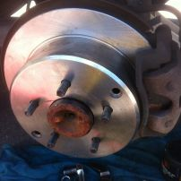 Rear Disc Rotors and Disc Pads Holden Commodore