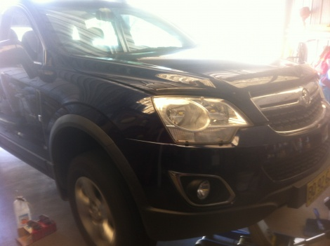 Front Brake Repair Holden Captiva Belmont