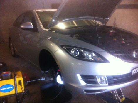 Front and Rear Bendix Disc Pads and Disc machining Mazda 6 Warners Bay