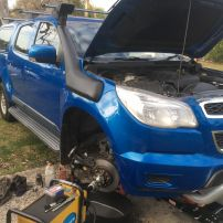 Front Brake Repair Holden Colorado Lambton