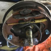 Caravan Brake Shoe Replacement