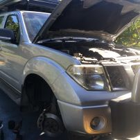 Nissan Pathfinder R51 Brake Repair Charlestown