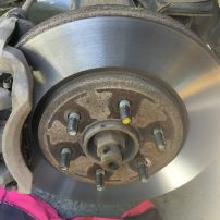 New Front Brakes Nissan pathfinder